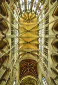 France, the historical cathedral of Beauvais in  Picardie — Stock Photo