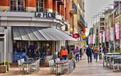 Somme, the picturesque city of Amiens  — Stock Photo