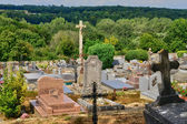 France, the cemetery of Delincourt in Oise — Stock Photo