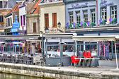 France, the picturesque city of Amiens in Picardie — Stock Photo