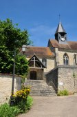France, the picturesque village of Montreuil sur Epte  — Stock Photo