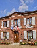 Normandie, the picturesque village of  Beauficel en Lyons — Stock Photo