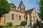 France, the picturesque city of  Aincourt — Stock Photo