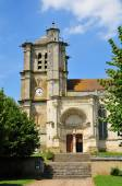 Oise, the historical church of Montjavoult — Foto Stock