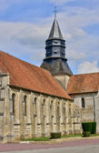 Haute Normandie, the picturesque village of Neuf Marche   — Foto de Stock
