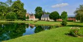 Picturesque village of Lisors in Normandie — Stock Photo