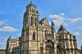 Collegiate church Saint Gervais Saint Protais of Gisors in Norma — Stock Photo