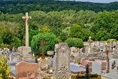 France, the cemetery of Delincourt in Oise — ストック写真