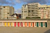 франция, живописный город ле-туке в nord па-де-кале — Стоковое фото