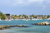 Africa, great bay coast in Mauritius Island — 图库照片
