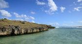 Mauritius, picturesque lighthouse island in Mahebourg aera — Foto de Stock