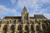 France, the historical church of Triel sur Seine — Stock Photo