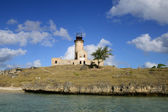 Mauritius, picturesque lighthouse island in Mahebourg aera — Stock Photo