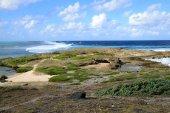 Mauritius, picturesque lighthouse island in Mahebourg aera — Stock Photo