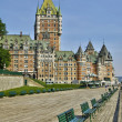 Canada, Chateau Frontenac in the city of Quebec — Stock Photo #63663853