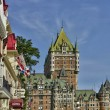 Canada, Chateau Frontenac in the city of Quebec — Stock Photo #63663889