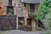 Picturesque old house in Colmar in Alsace — Stock Photo