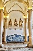 Portugal , historical and pisturesque  Alcobaca monastery  — Stock Photo