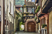 France, the small village of Kaysersberg in Alsace — Stock Photo