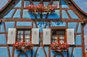 France, Alsace, picturesque old old village of Eguisheim — Stock Photo