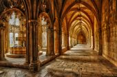 Historical monastery of Batalha in Portugal — Stock Photo