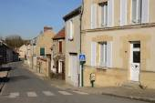 France, the picturesque village of Sagy — Stock Photo