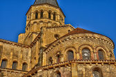 Bourgogne, the picturesque basilica of Paray le Monial — Stock Photo
