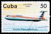 Post stamp from Cuba     — Stock Photo