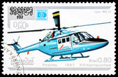 Post stamp from Kampuchea — Stock Photo