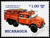 Post stamp from Nicaragua — Foto Stock