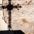 Shadow of a cross — Stock Photo #58659029