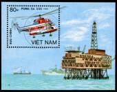 Sello de correos de vietnam — Foto de Stock