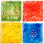Handmade ceramic tiles  — Φωτογραφία Αρχείου