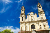 Towers of Mission Church — Stock Photo