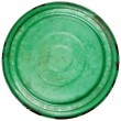 Old grungy green cooking pot lid — Stock Photo #60066259