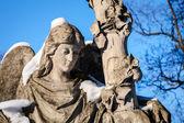Statua di angelo — Foto Stock
