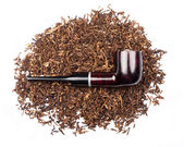 Smoking pipe with tobacco  — Stock Photo