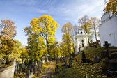 Famous old Rasu cemetery in Vilnius, Lithuania — Stock Photo