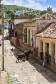 Street scene, Trinidad, Cuba — Stock Photo
