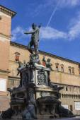 Fountain of Neptune, Bologna — Stock Photo