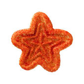 Christmas Star Cookie — Stock Photo