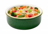 Ramen Noodles with Stir Fried Vegetables — Stock Photo