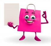 買い物袋の文字記号 — ストック写真