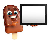Candy Character With tab — Stockfoto