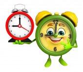 table clock Character — Stock Photo