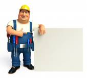 Young Plumber with — Stock Photo
