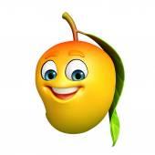 Personaje de dibujos animados de mango — Foto de Stock