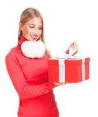 Christmas surprise. — Stock Photo