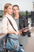 Student girls. — Stock Photo