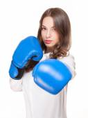Bring on the fight. — Stock Photo